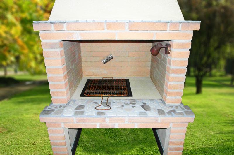 Fratelli giannini realizzazione barbecue artigianali - Camino da giardino ...